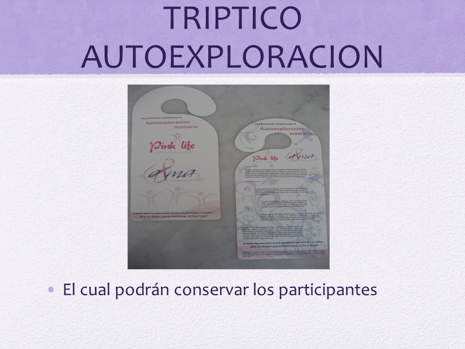 TRIPTICO AUTOEXPLORACION