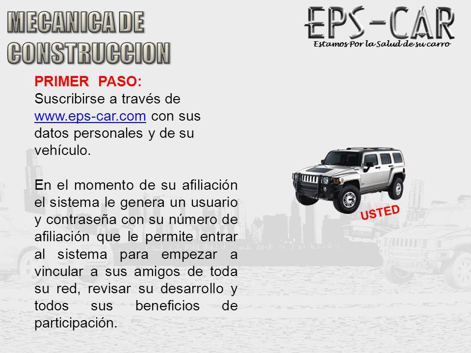 MECANICA DE CONSTRUCCION PRIMER PASO: