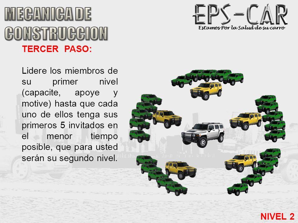 MECANICA DE CONSTRUCCION TERCER PASO: