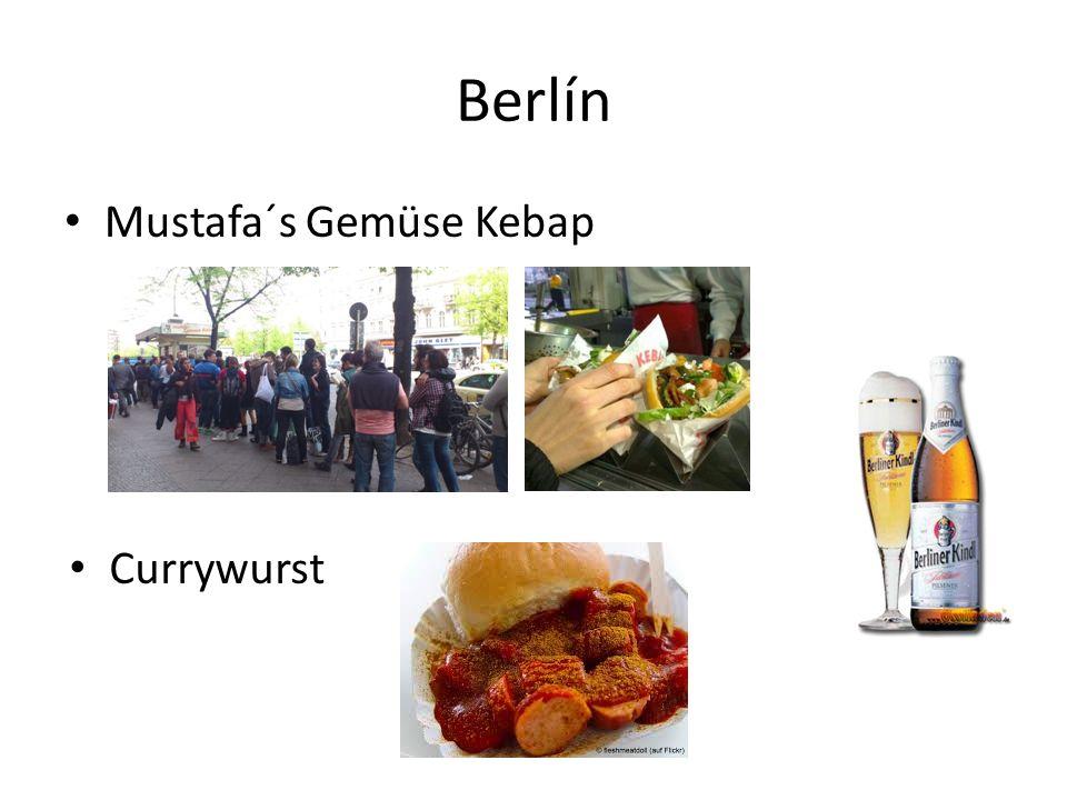 Berlín Mustafa´s Gemüse Kebap Currywurst