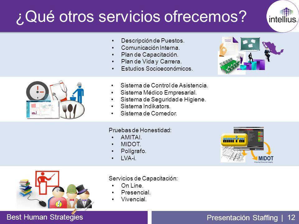 ¿Qué otros servicios ofrecemos