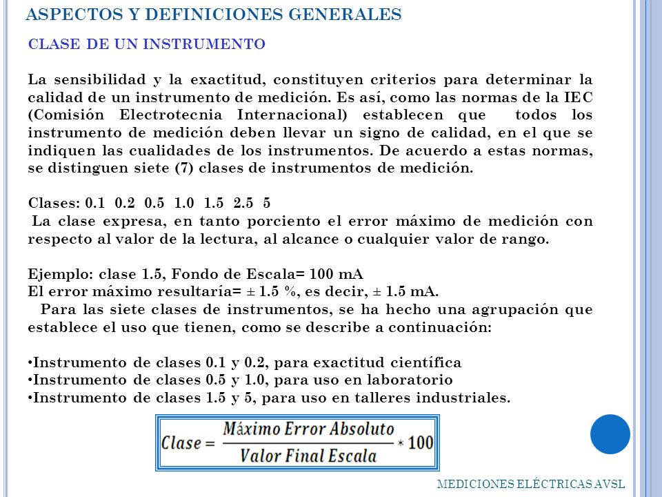 ASPECTOS Y DEFINICIONES GENERALES