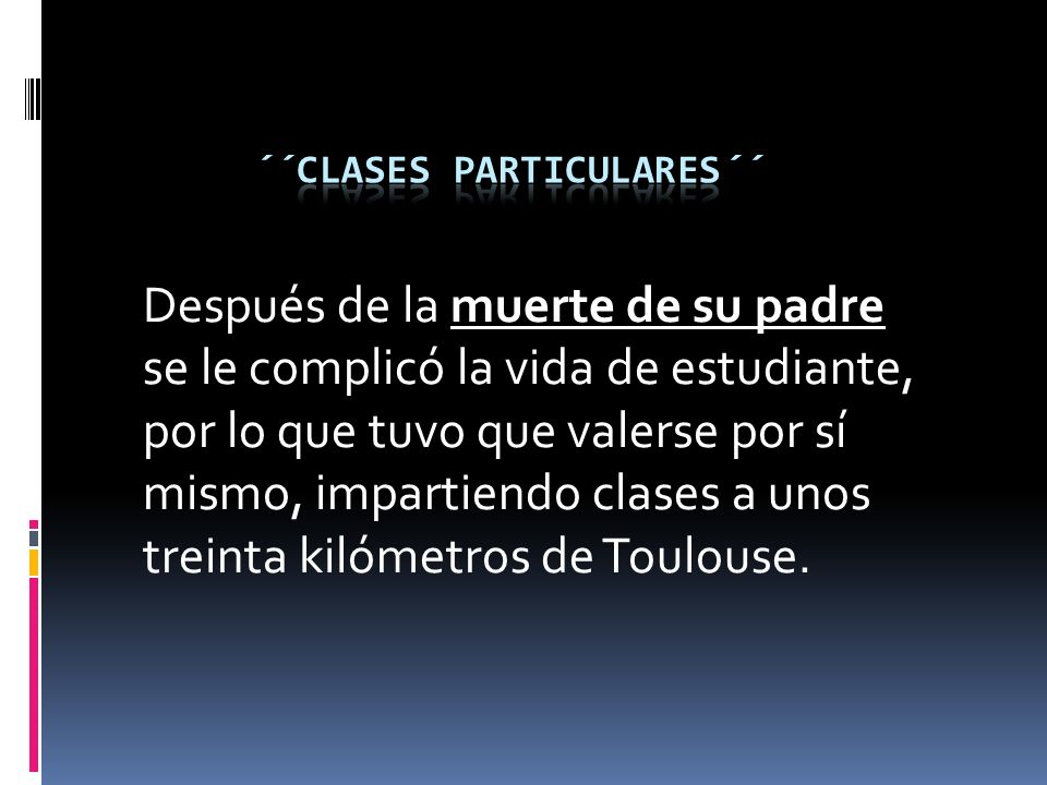 ´´Clases particulares´´