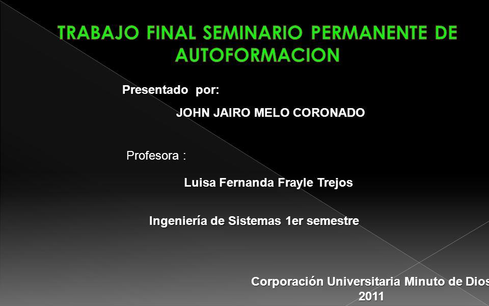 TRABAJO FINAL SEMINARIO PERMANENTE DE AUTOFORMACION