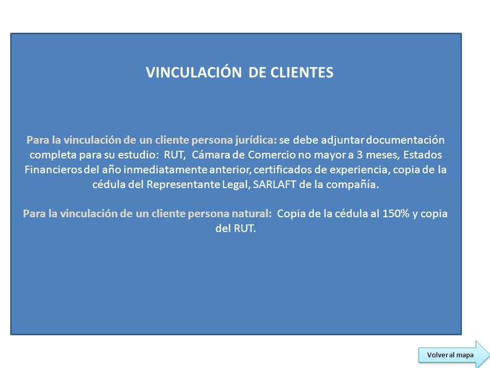 VINCULACIÓN DE CLIENTES