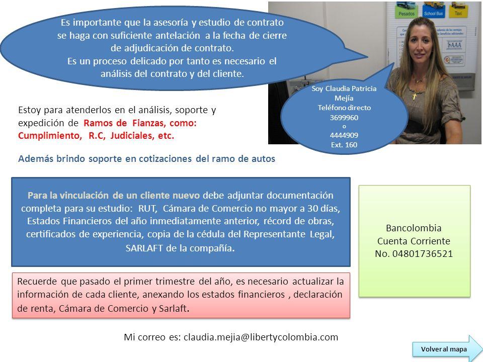 Soy Claudia Patricia Mejía