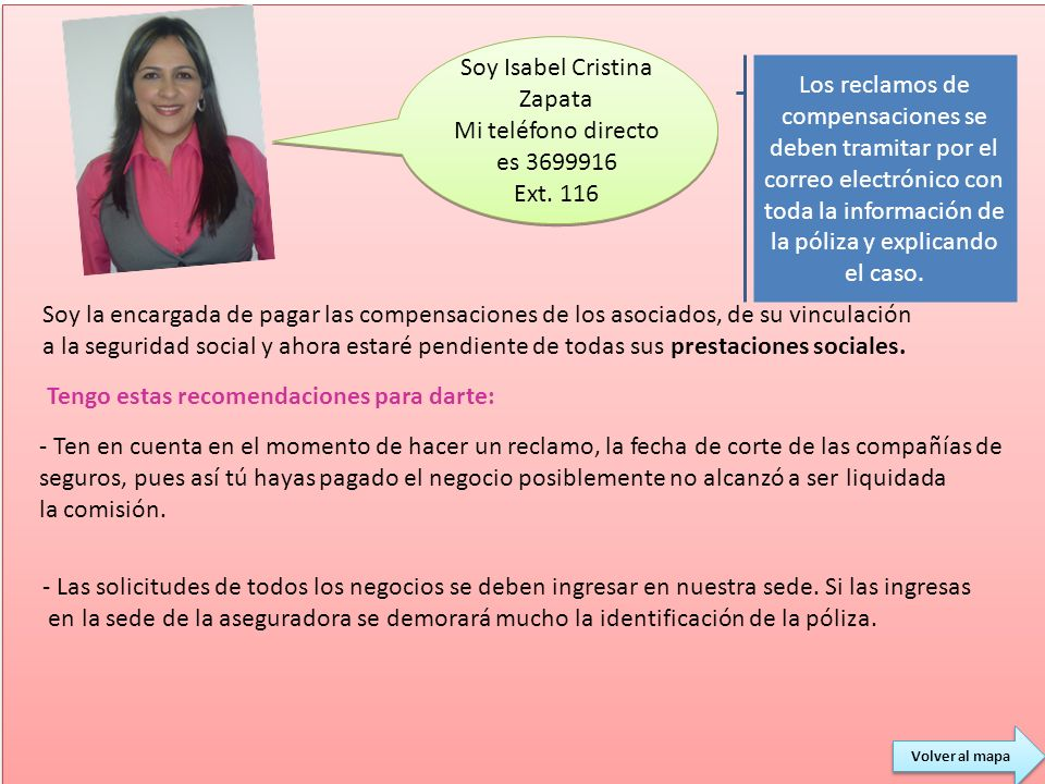 Soy Isabel Cristina Zapata