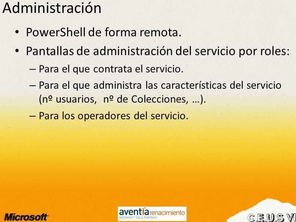 Administración PowerShell de forma remota.