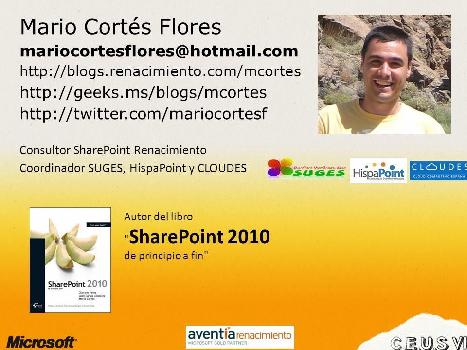 Mario Cortés Flores mariocortesflores@hotmail.com