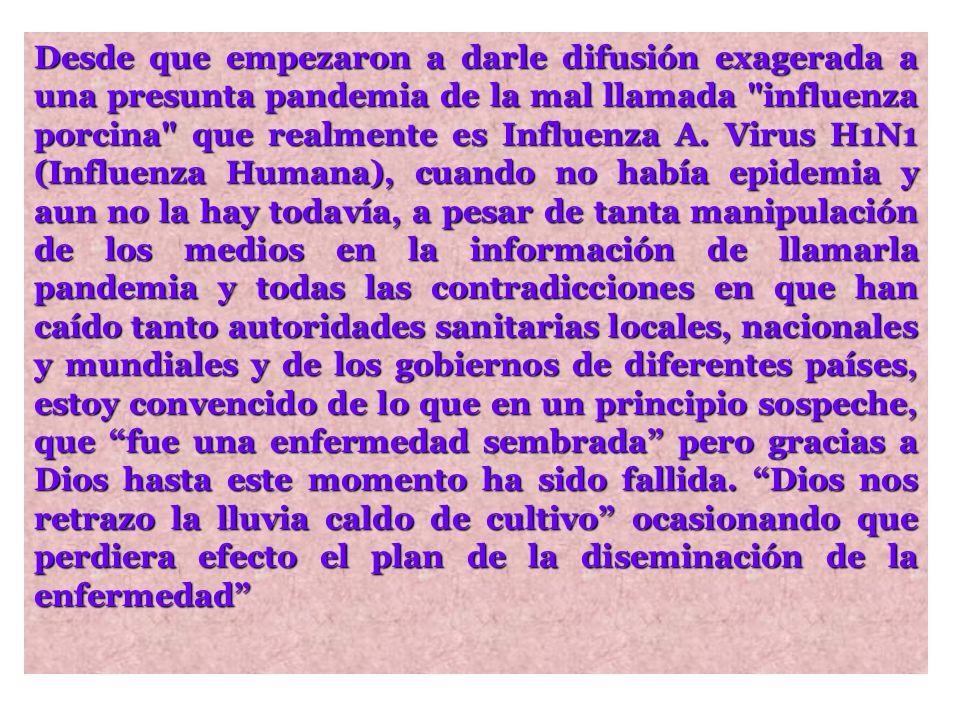 Influenza A. Virus H1N1 (Influenza Humana)