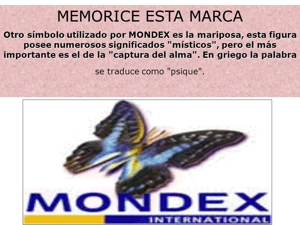 MEMORICE ESTA MARCA