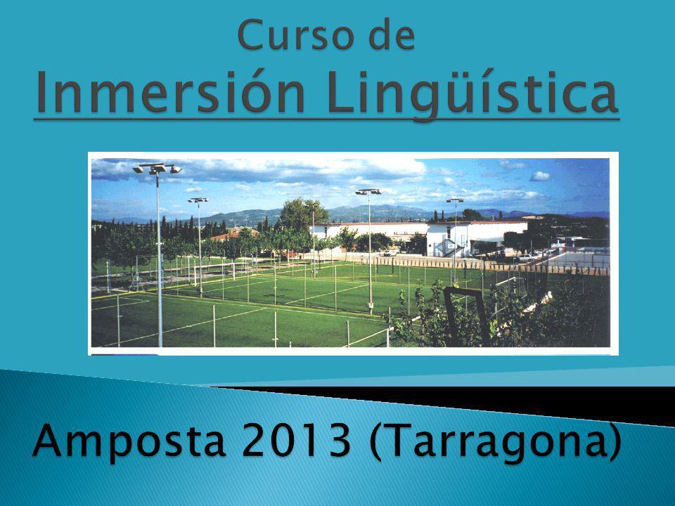 Curso de Inmersión Lingüística Amposta 2013 (Tarragona)