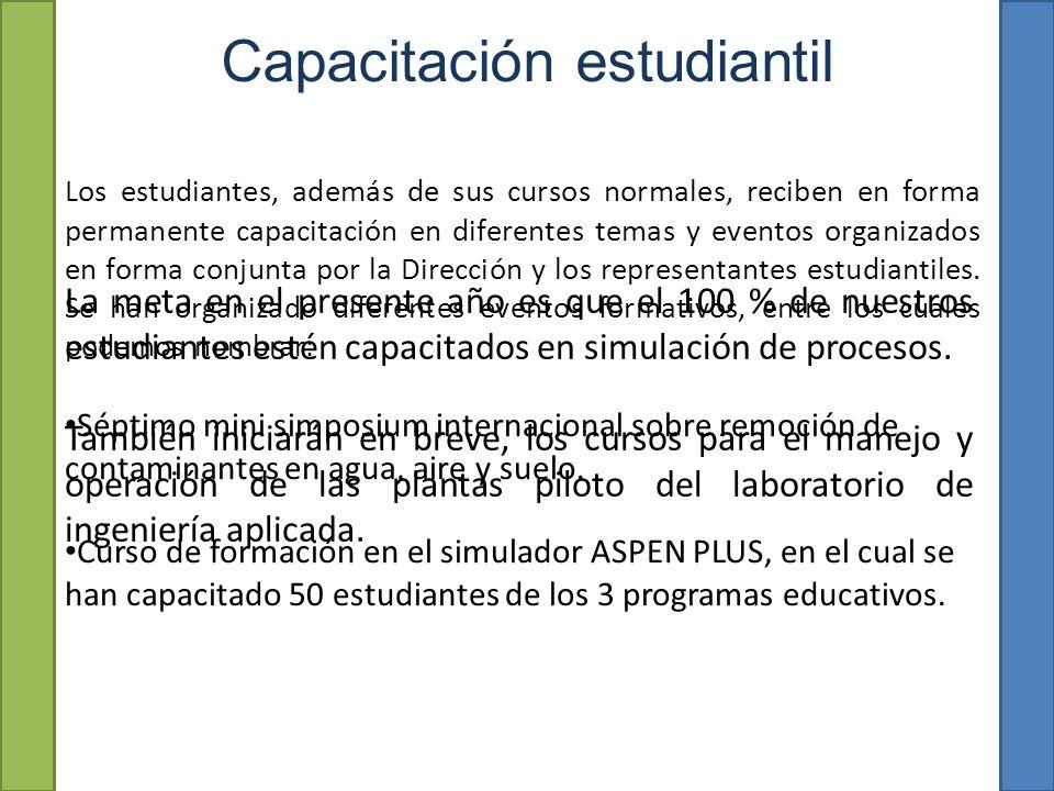 Capacitación estudiantil