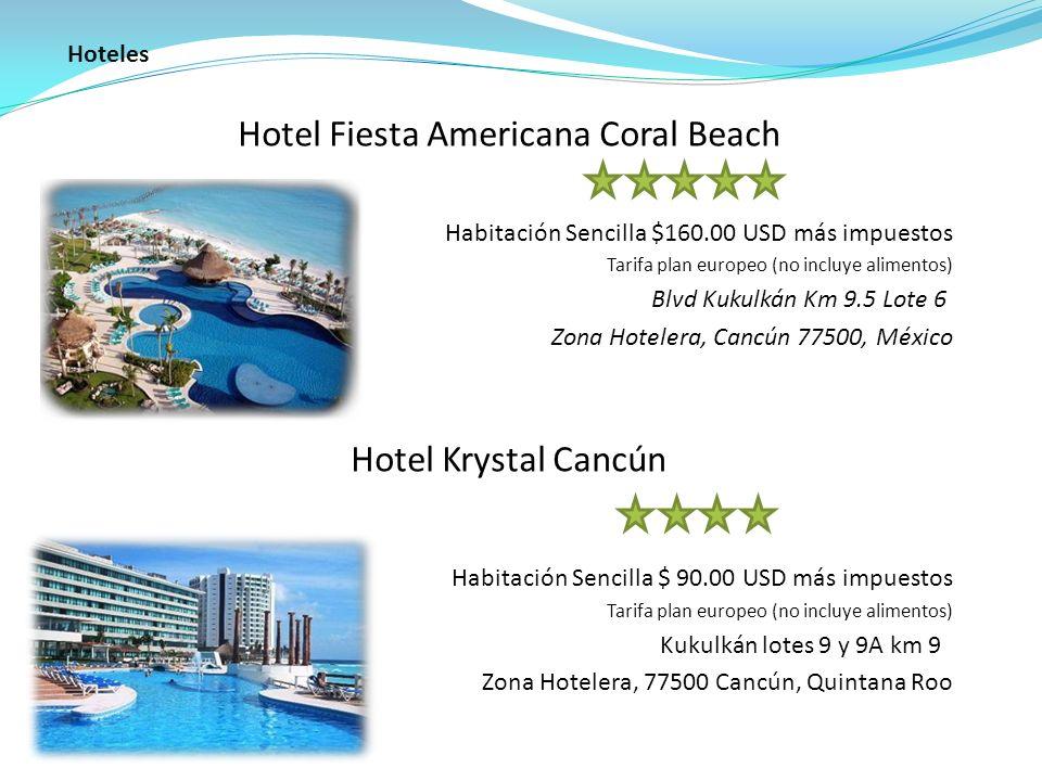 Hotel Fiesta Americana Coral Beach