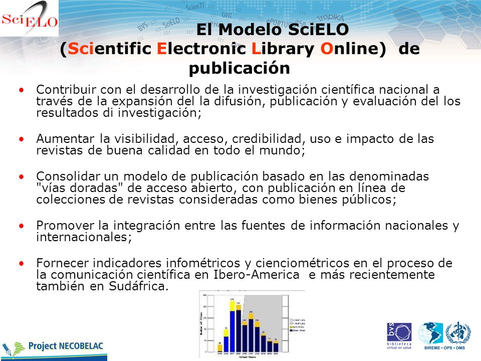El Modelo SciELO (Scientific Electronic Library Online) de publicación