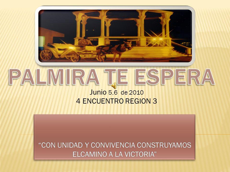 CON UNIDAD Y CONVIVENCIA CONSTRUYAMOS ELCAMINO A LA VICTORIA