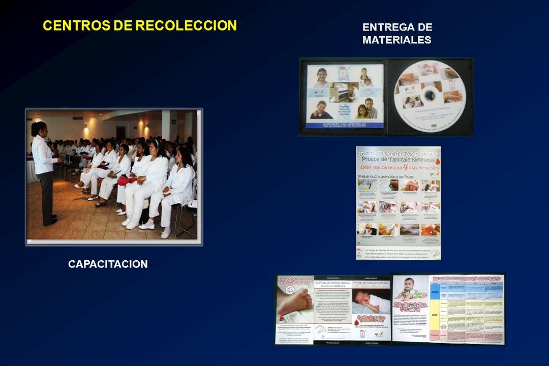 CENTROS DE RECOLECCION
