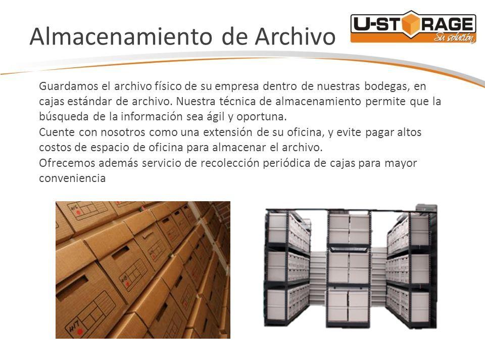 Almacenamiento de Archivo