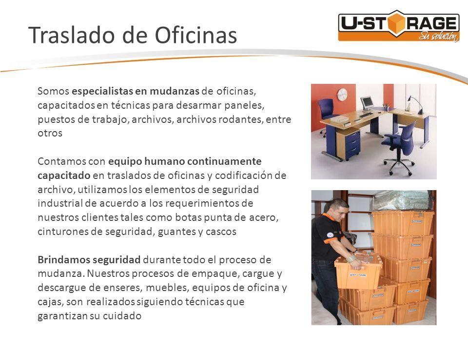 U storage bodegas personales traslado de oficinas ppt for Mudanzas de oficinas
