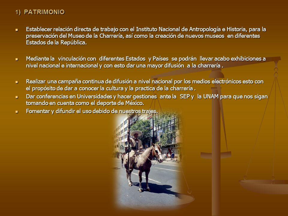 1) PATRIMONIO