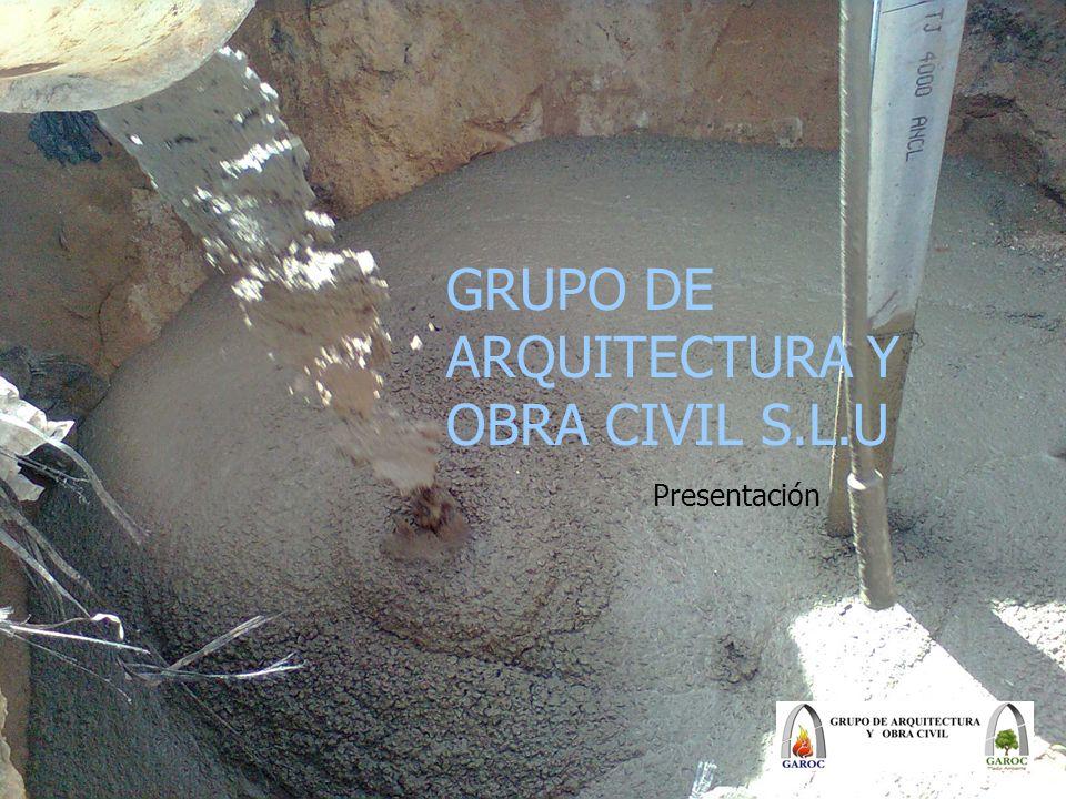 GRUPO DE ARQUITECTURA Y OBRA CIVIL S.L.U