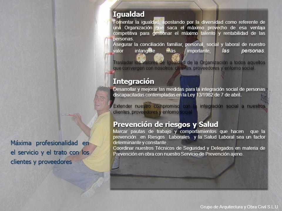 Prevención de riesgos y Salud