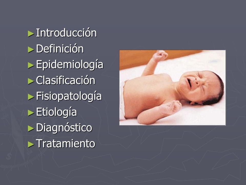 Introducción Definición. Epidemiología. Clasificación. Fisiopatología. Etiología. Diagnóstico.