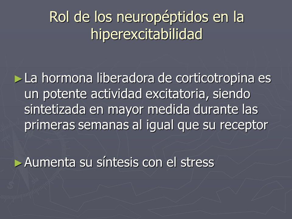 Rol de los neuropéptidos en la hiperexcitabilidad
