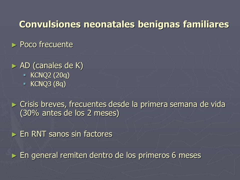 Convulsiones neonatales benignas familiares