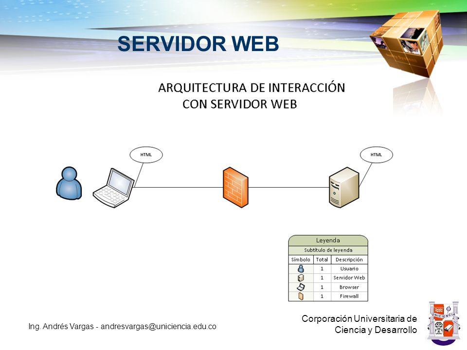 SERVIDOR WEB Corporación Universitaria de Ciencia y Desarrollo
