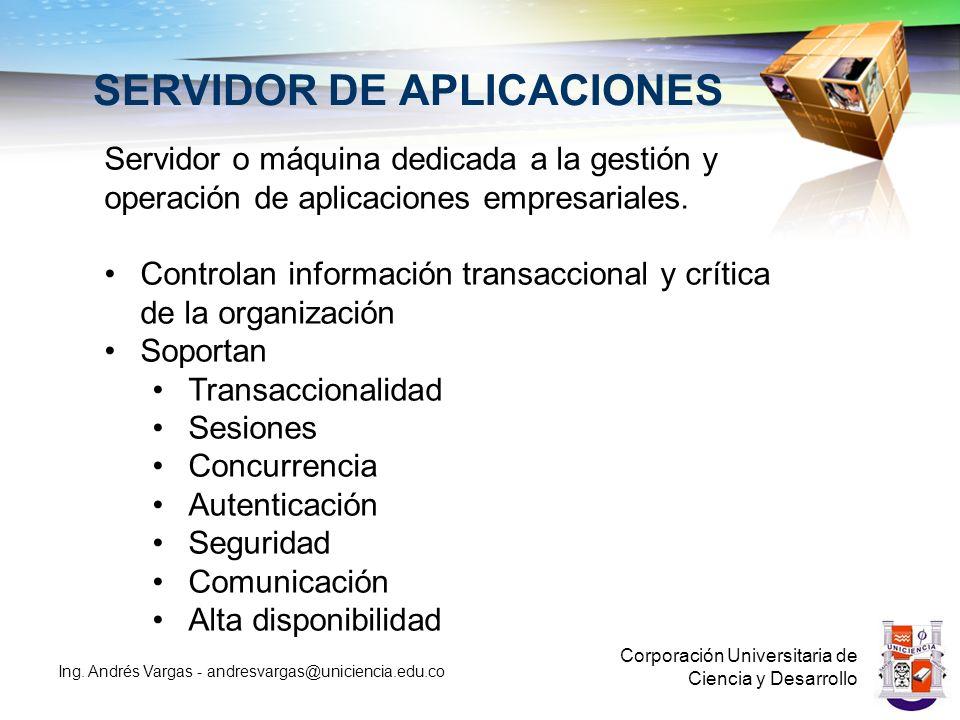 SERVIDOR DE APLICACIONES