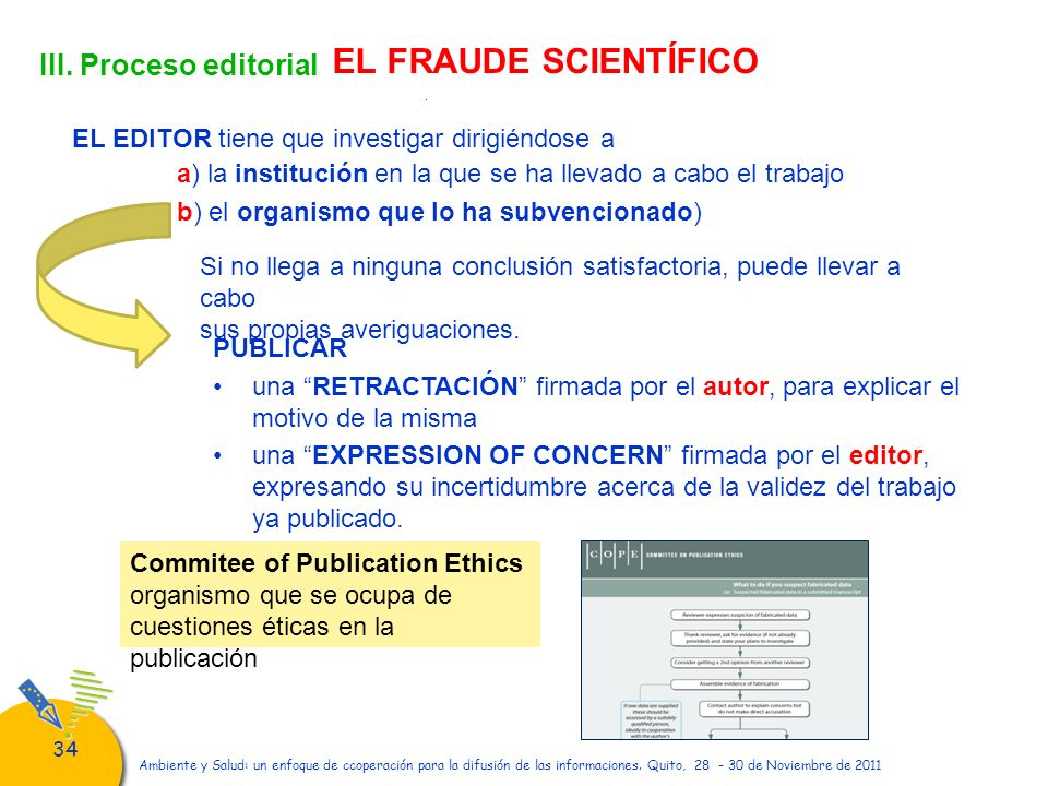 EL FRAUDE SCIENTÍFICO III. Proceso editorial
