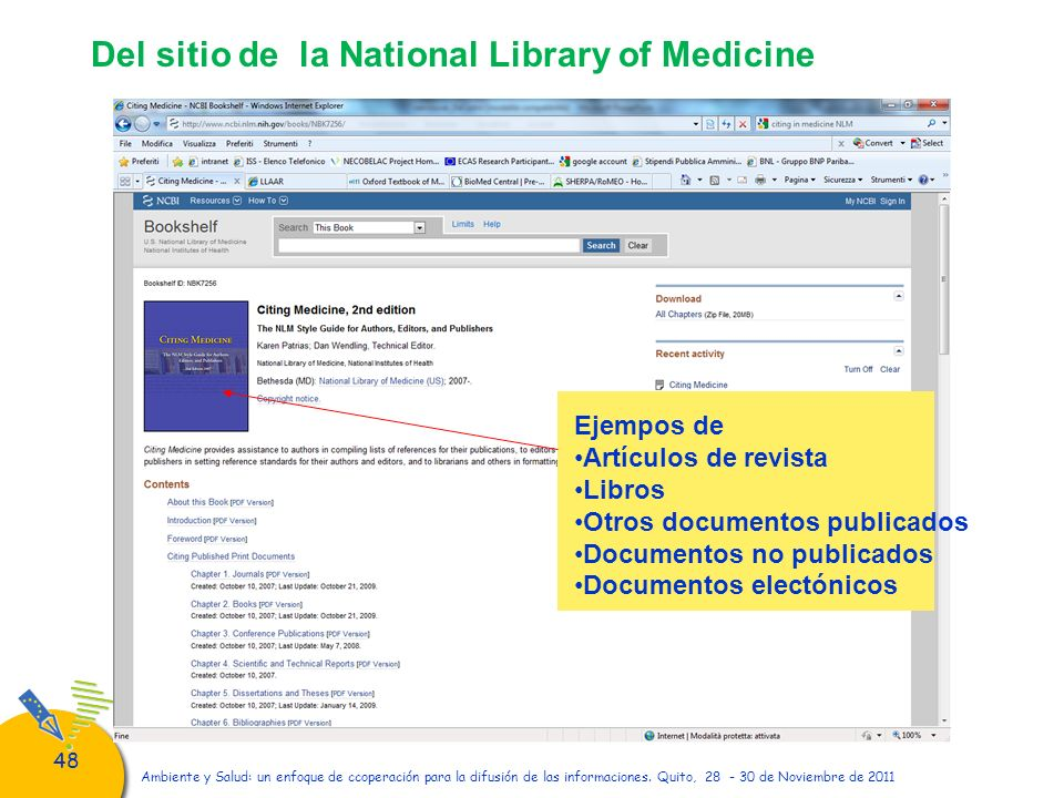 Del sitio de la National Library of Medicine