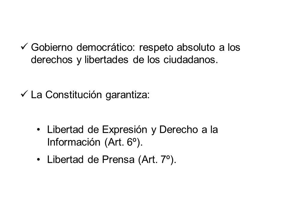 Libertad de expresión y regulación