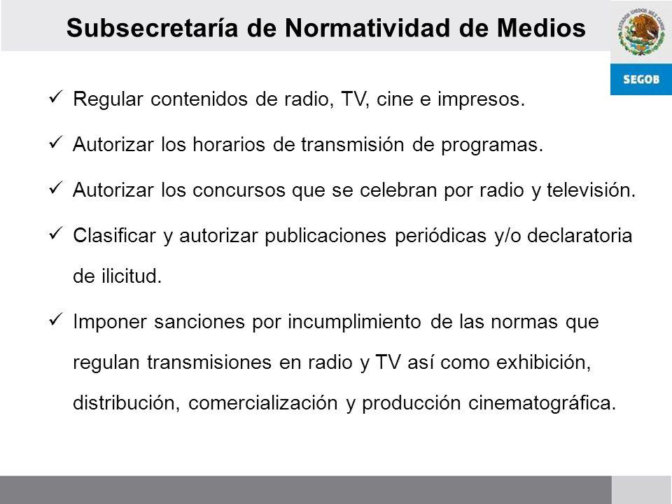 Subsecretaría de Normatividad de Medios