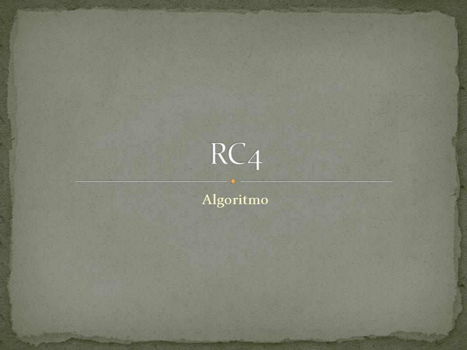 RC4 Algoritmo