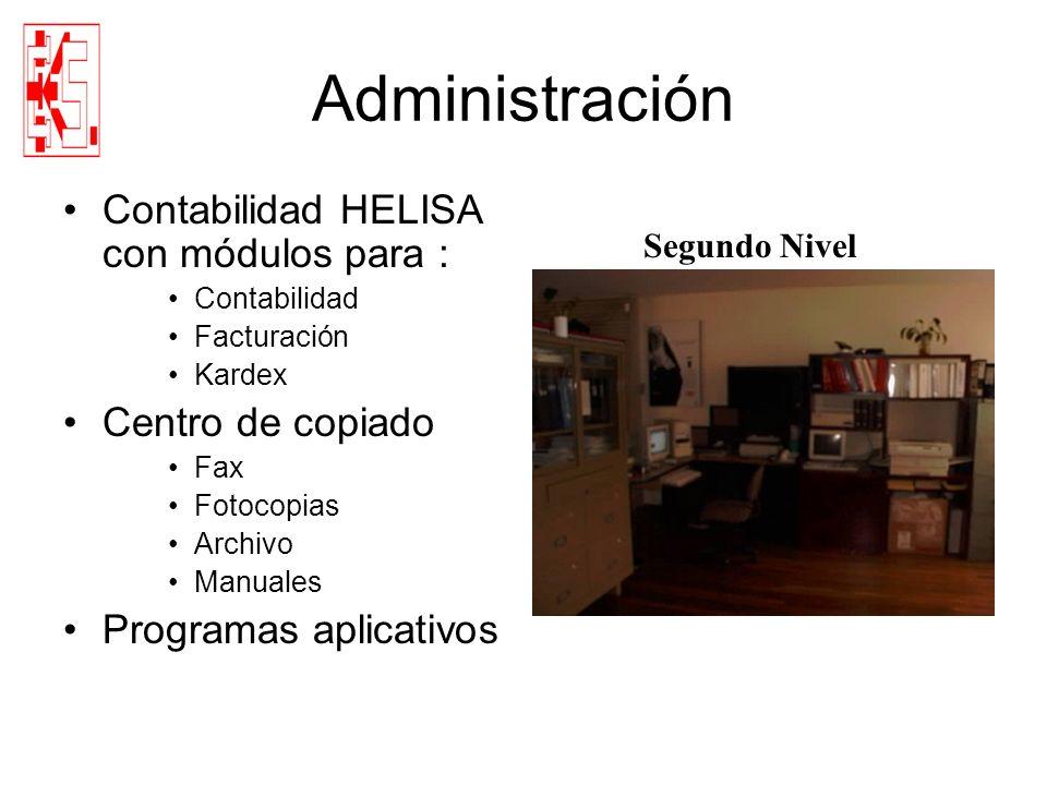 Administración Contabilidad HELISA con módulos para :