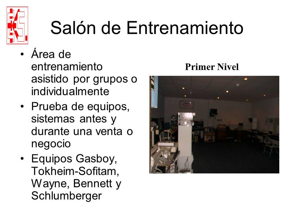 Salón de Entrenamiento