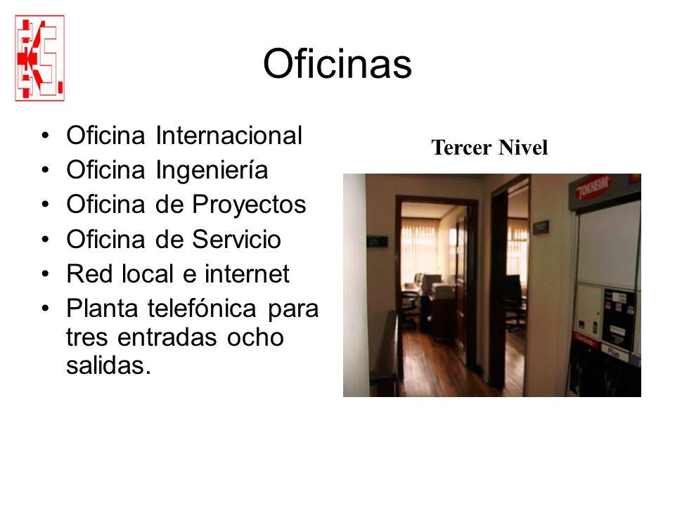 Oficinas Oficina Internacional Oficina Ingeniería Oficina de Proyectos