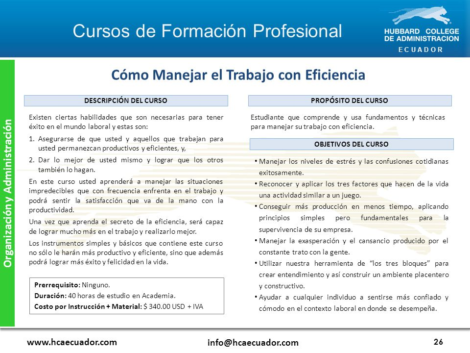 Cómo Manejar el Trabajo con Eficiencia Organización y Administración