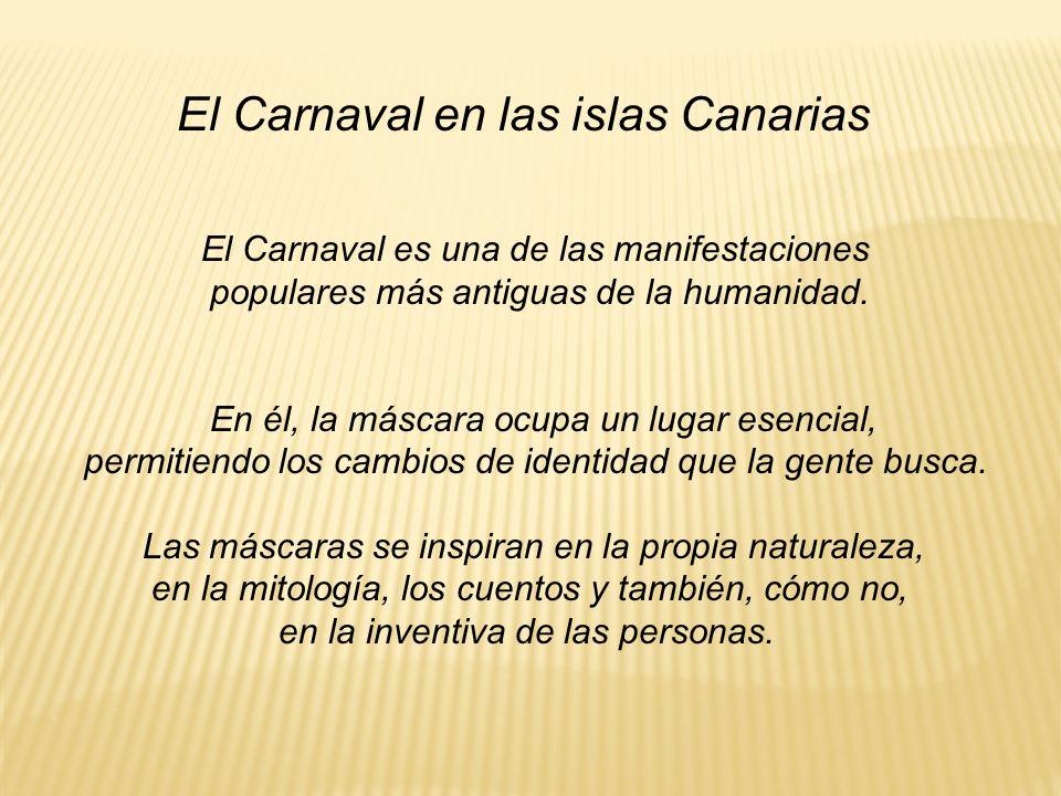 El Carnaval en las islas Canarias