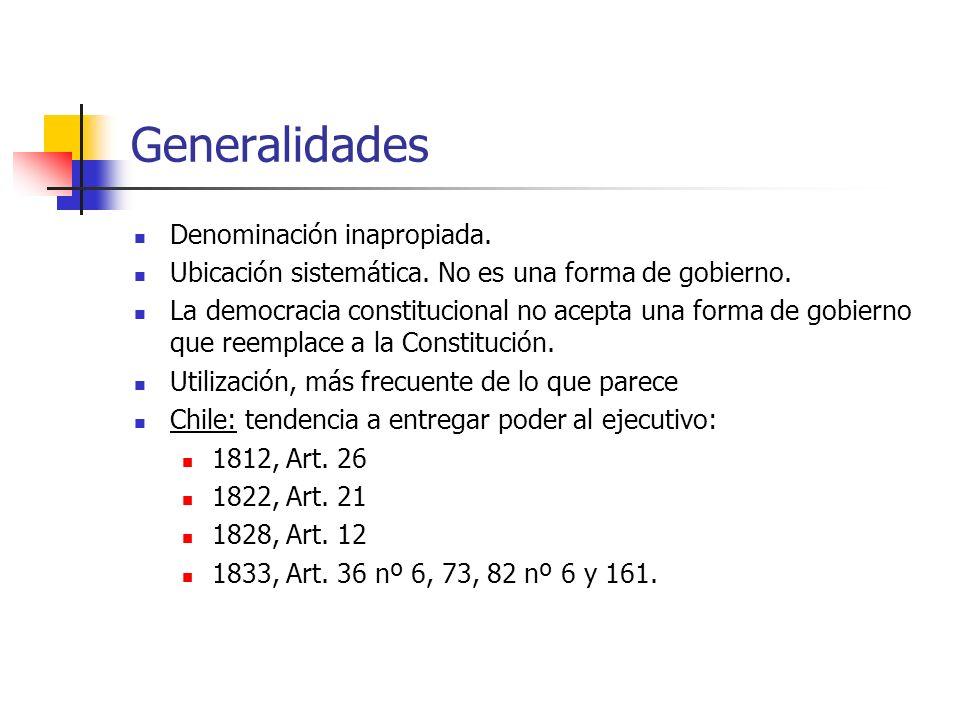 Generalidades Denominación inapropiada.