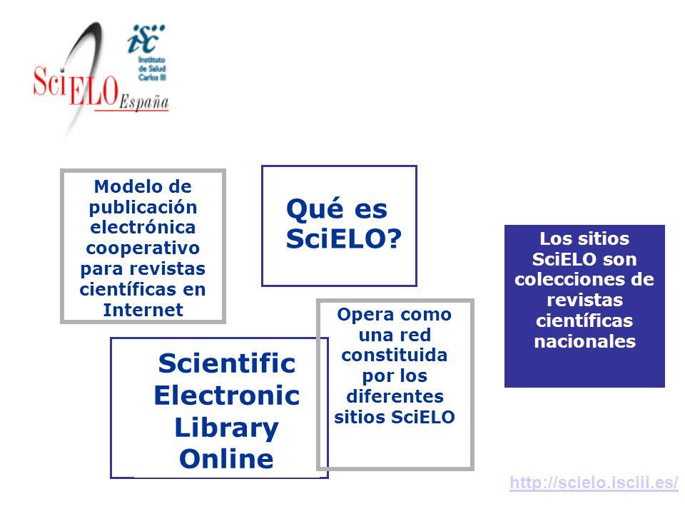 Conceptos Qué es SciELO Scientific Electronic Library Online