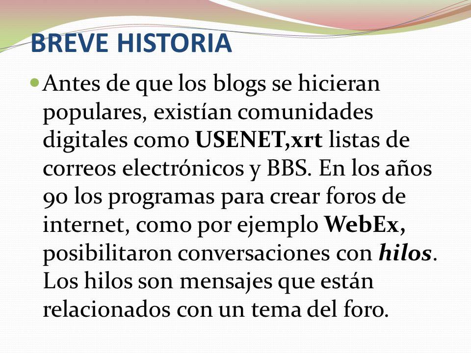 BREVE HISTORIA