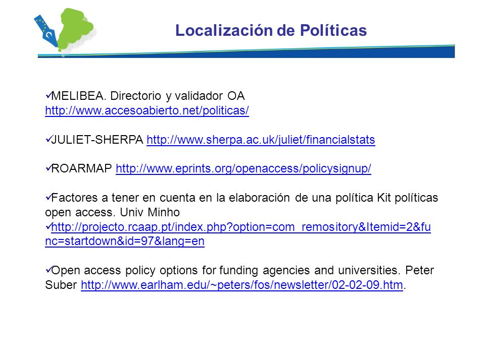 Localización de Políticas