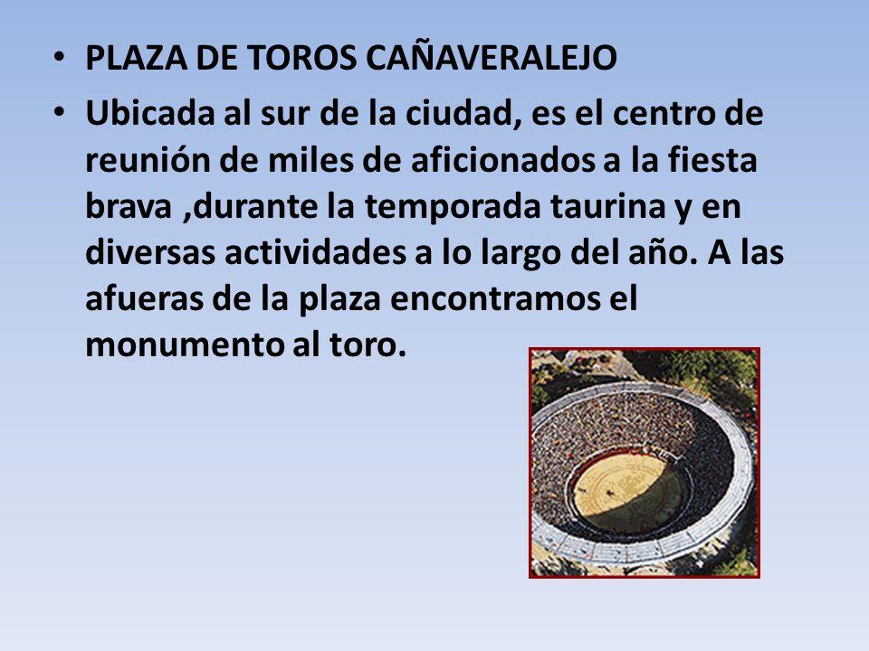 PLAZA DE TOROS CAÑAVERALEJO