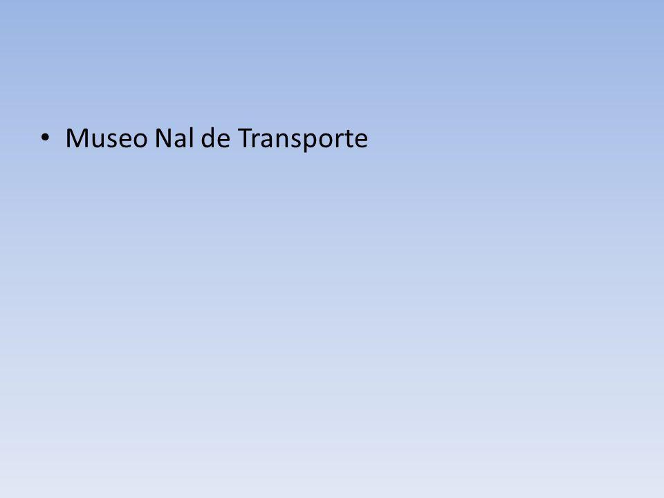 Museo Nal de Transporte