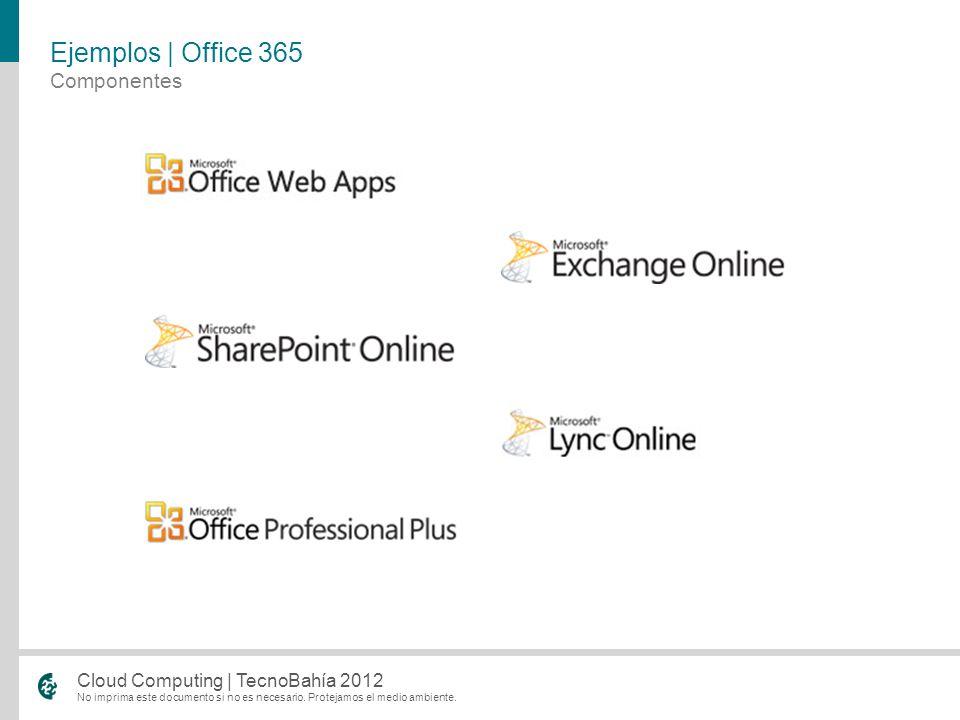 Ejemplos | Office 365 Componentes