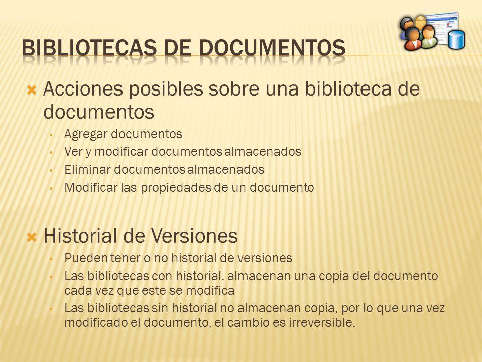 Bibliotecas de documentos