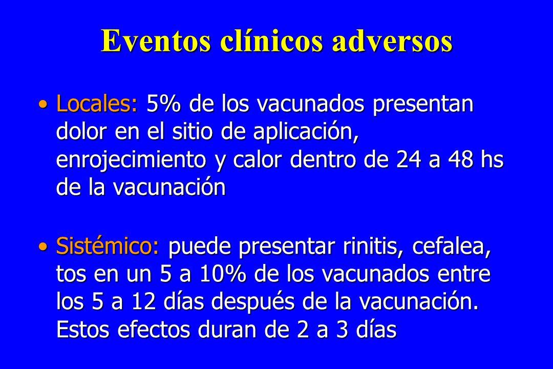 Eventos clínicos adversos